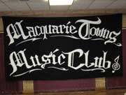 Marcus Sturrock at Macquarie Towns Music Club