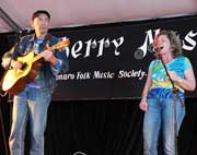 Marcus Sturrock and Buck & Deanne at Sutherland Acoustic