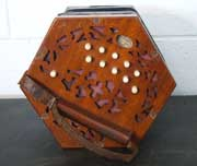 Lachenal Anglo concertina for sale