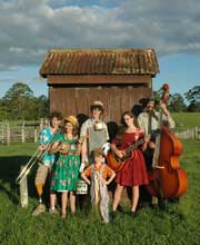 Perch Creek Family Jug Band come to Humph Hall