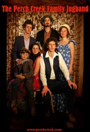 Perch Creek Family Jug Band return to Humph Hall
