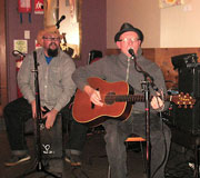 Cafe Dalor Open Mic - The Snakemen Cometh - CD Launch