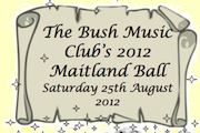 Bush Music Club's 32nd Subscription Ball, Maitland Town Hall