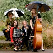 London Klezmer Quartet come to Humph Hall