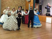 Bush Music Club's Colonial Subscription Ball, Maitland Town Hall