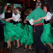 Sydney Irish Ceili Dancers at the Shamrock