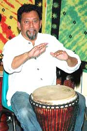 Ray Pereira Drum & Dance Workshop