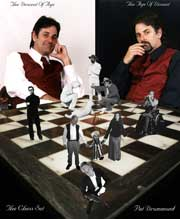 "Pat Drummond's ""The Chess Set"""