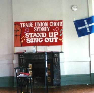 Sydney Trade Union Choir Banner