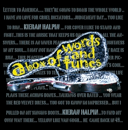 Kieran Halpin - A box of words and tunes album cover