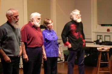 The Roaring Forties - Don Brian, John Warner, Margaret Walters, Robin Connaughton - Tom Hanson missing