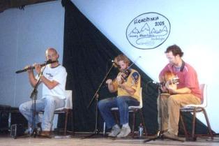 Martin Glynn, Mossie Martin and Jeremy Dunlop