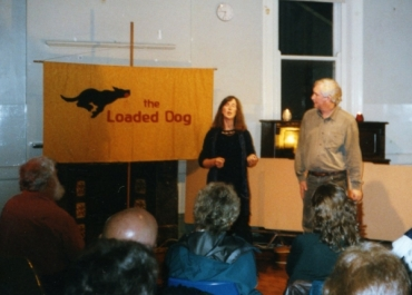 Margaret and Bob Fagan sing at the Loaded Dog in 2004