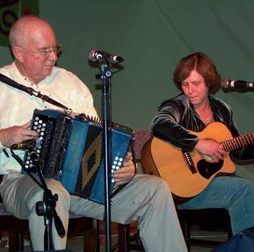 The Merrigans performing