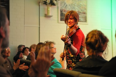 Eleanor McEvoy performing unplugged in Humph Hall 2011