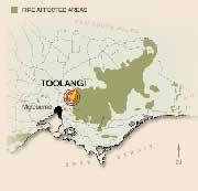 Toolangi Map