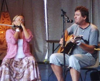 Lyrebird at the 2006 Illawarra Folk Festival