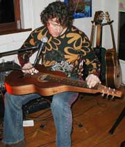Phil Edgeley at The Urban Cafe, Bangalow