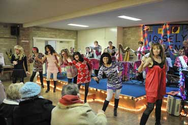 Dancing at a Loosely Woven concert