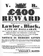 Eureka Wanted Poster