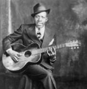 Legendary Bluesman Robert Johnson - our backdrop
