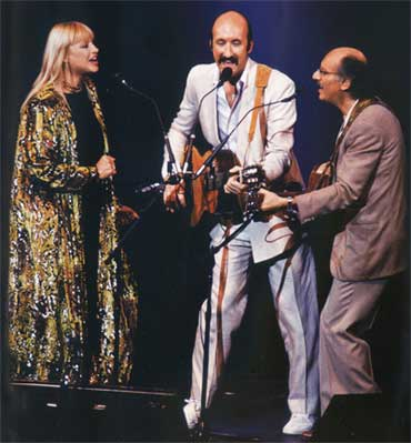 Peter, Paul and Mary at their 25th Anniversary Concert