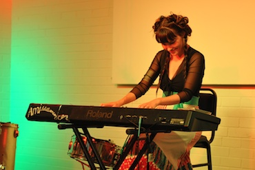 Ami Williamson in Humph Hall 2011