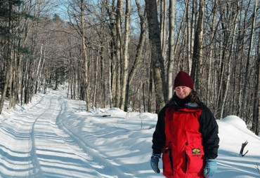 The author dressed for walking on a balmy -15degC New Hampshire day.